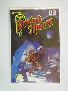 Cases of Sherlock Holmes #1 6.0 FN (1986 Renegade Press)