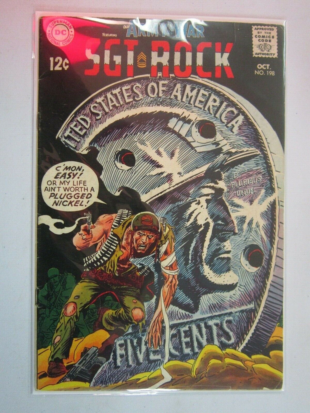 Our Army at War Sgt Rock #198 (1968) 4.0 VG