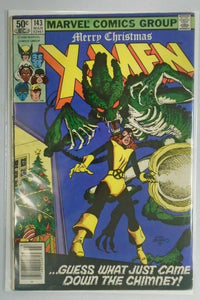 Uncanny X-Men #143 Newsstand edition 1st series 5.0 VG FN (1981)