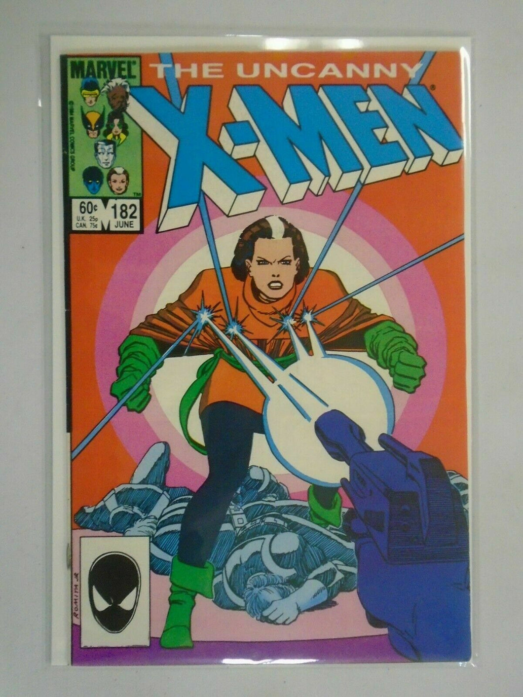 Uncanny X-Men #182 Direct edition 5.0 VG FN (1984 1st Series)