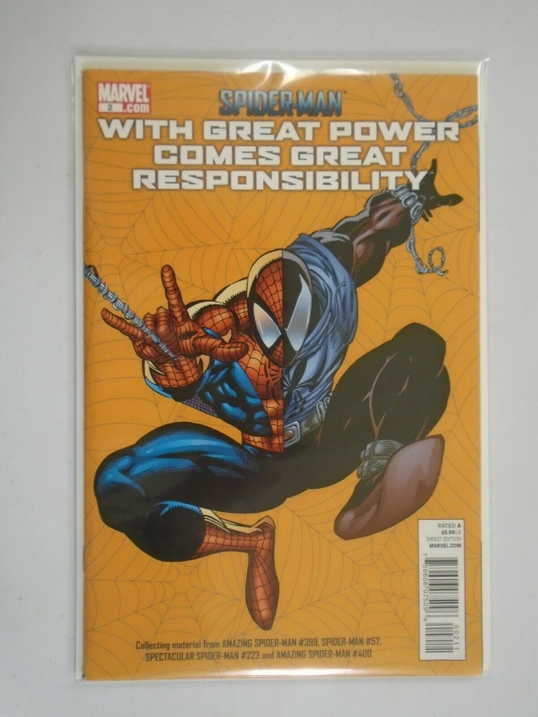 Spider-Man with Great Power Comes Great Responsibility #2 8.0 VF (2011)