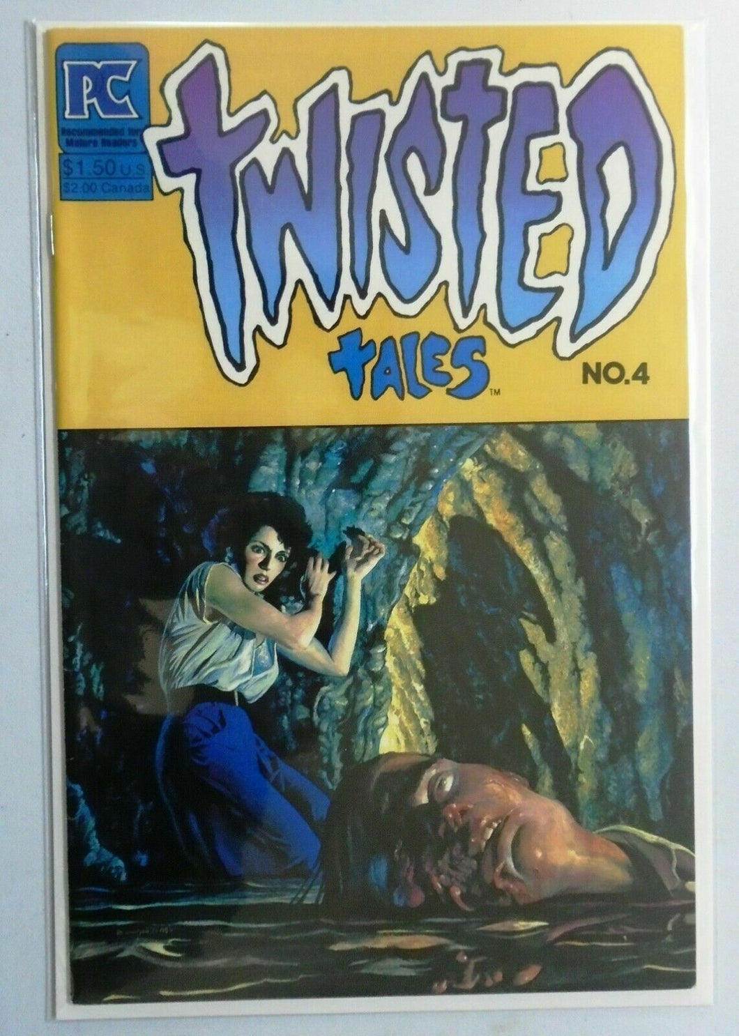 Twisted Tales (Pacific) #4, 7.0 (1983)