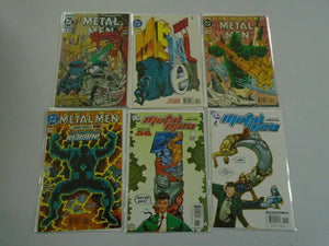 Metal Men lot 2 sets 12 issues 8.0 VF (1993+2007 2nd + 3rd Series)