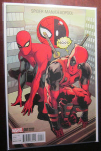 Spider-Man Deadpool (2016) #1D, NM/9.0