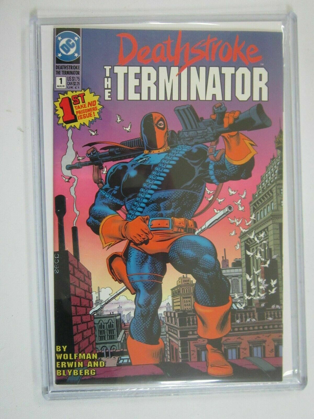 Deathstroke the Terminator #1 8.5 VF+ (1991)