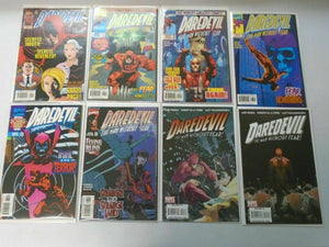High # Daredevil comic lot #352-507 19 different issues average 8.0 VF (1996-201