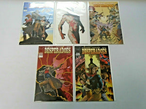 Desperadoes Set #1-5 8.0 VF (1997)