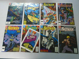 Batman comic lot 23 different from #450-499 avg 8.0 VF (1990-93)