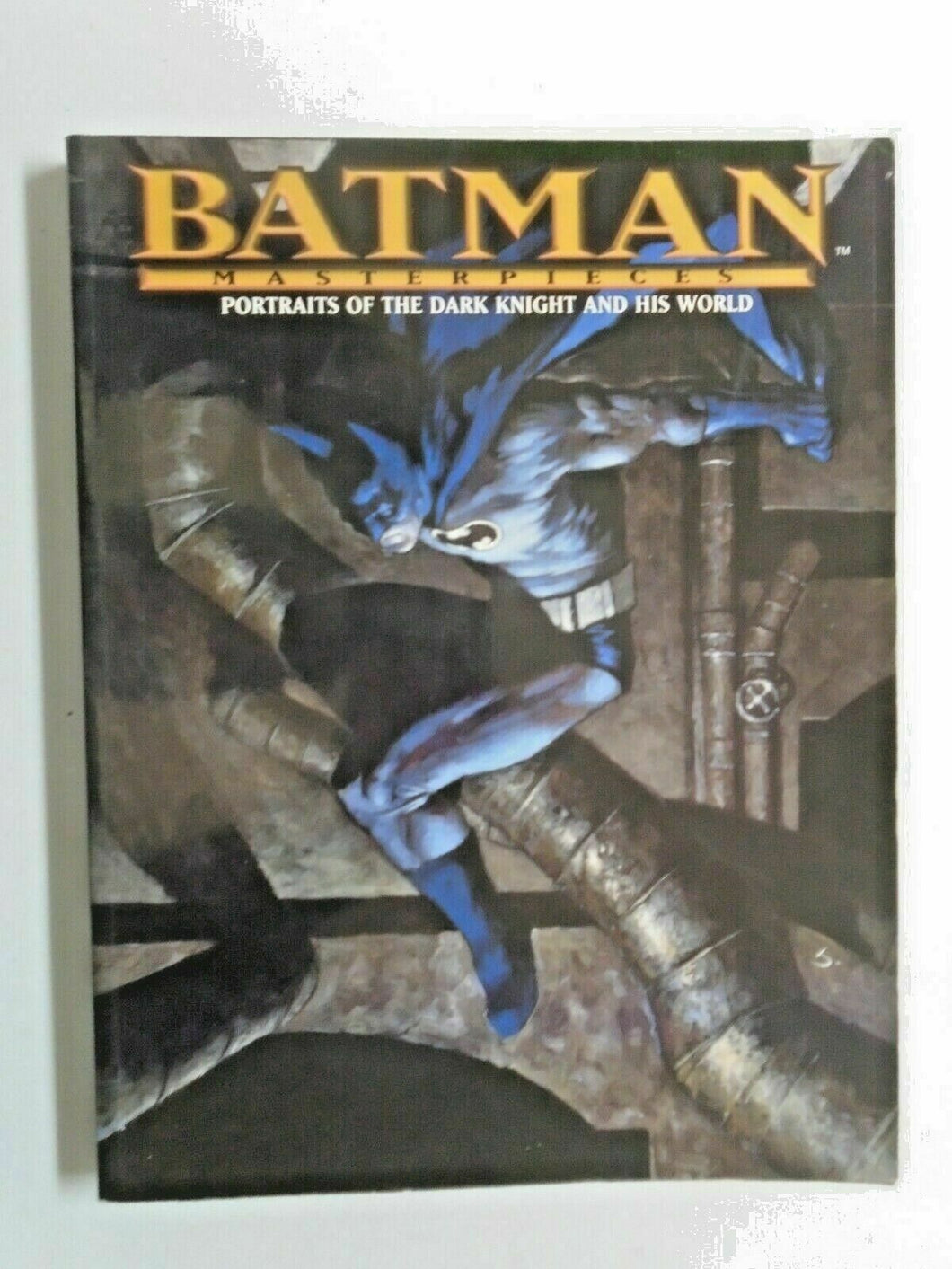 Batman Masterpieces Portraits of the Dark Knight and his World #1 good (2008)