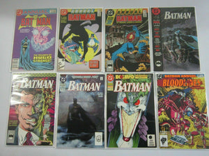 Batman Annual lot #10-17 6.0 FN (1986-93 1st Series)