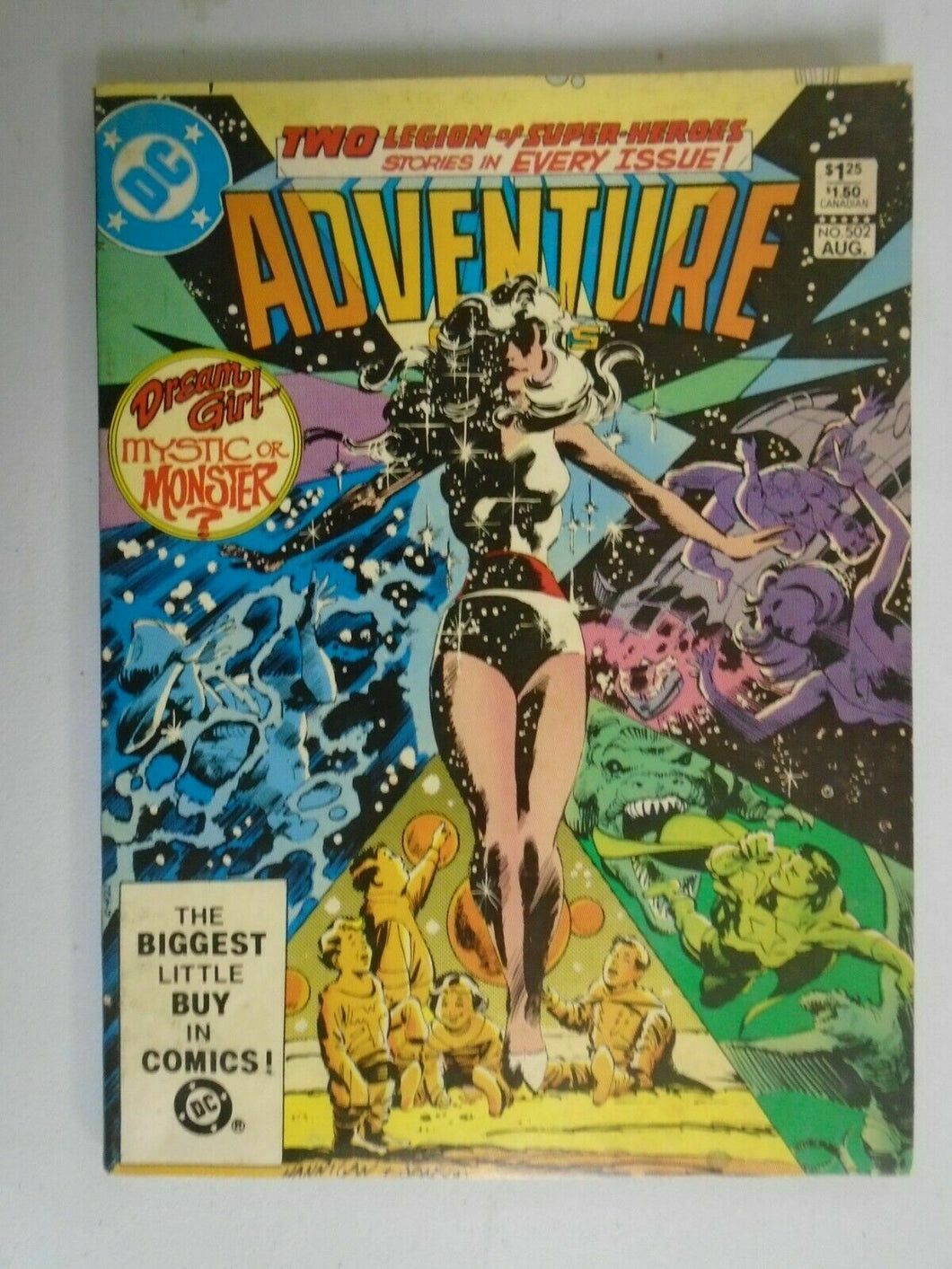 Adventure Comics #502 7.0 FN VF (1983 1st Series)