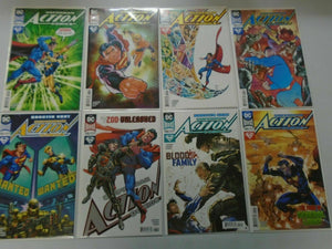 Action Comics lot 8 different covers #993-999 NM (2018)