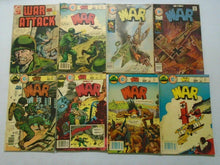 Load image into Gallery viewer, War comic lot 38 different issues avg 5.0 VG FN (Charlton)
