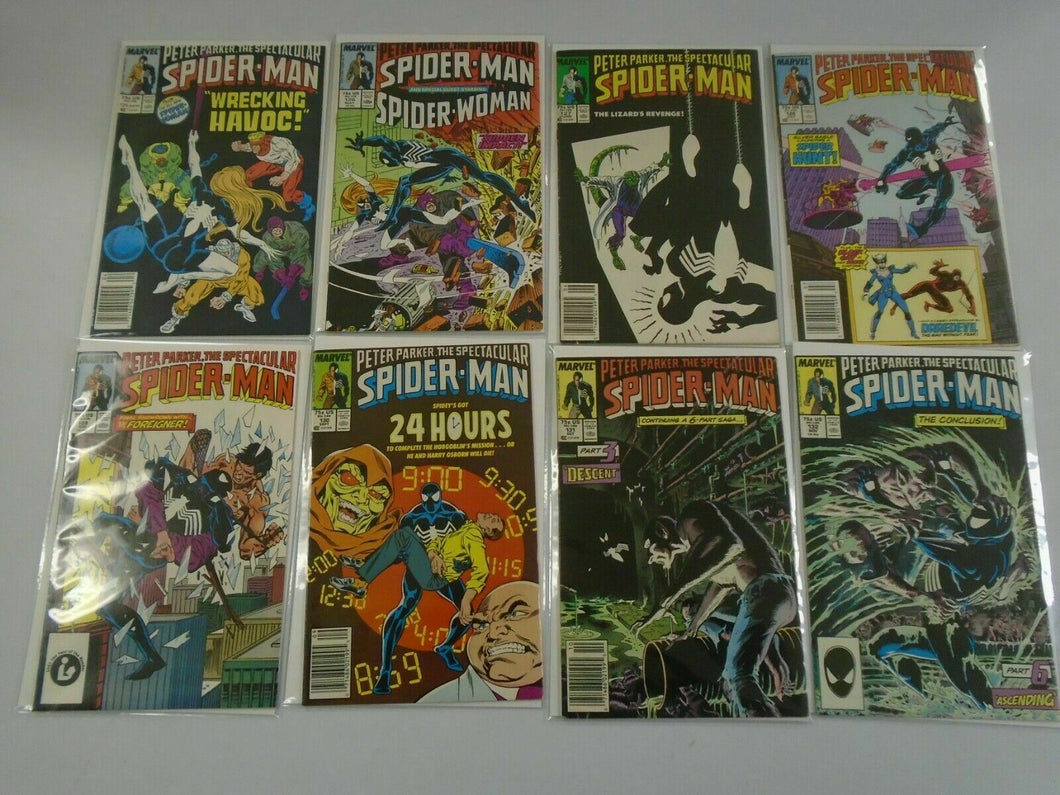 Spectacular Spider-Man lot 46 different from #125-174 6.0 FN (1987-91 1st Series