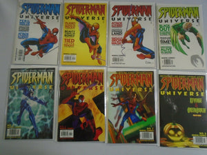 Spider-Man Universe run #1-8 avg 8.0 VF (2000)