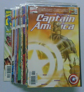 Captain America 3rd Series comic lot #1B-22A 8.0 VF (1998)
