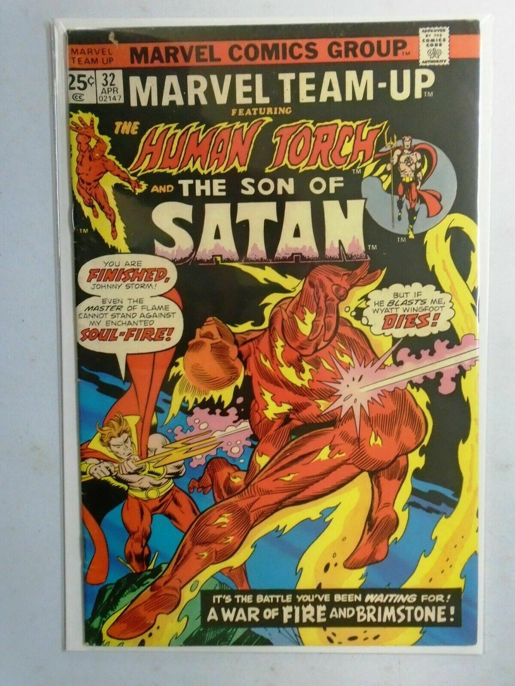 Marvel Team-Up (1st Series) #32, 4.0 (1975)