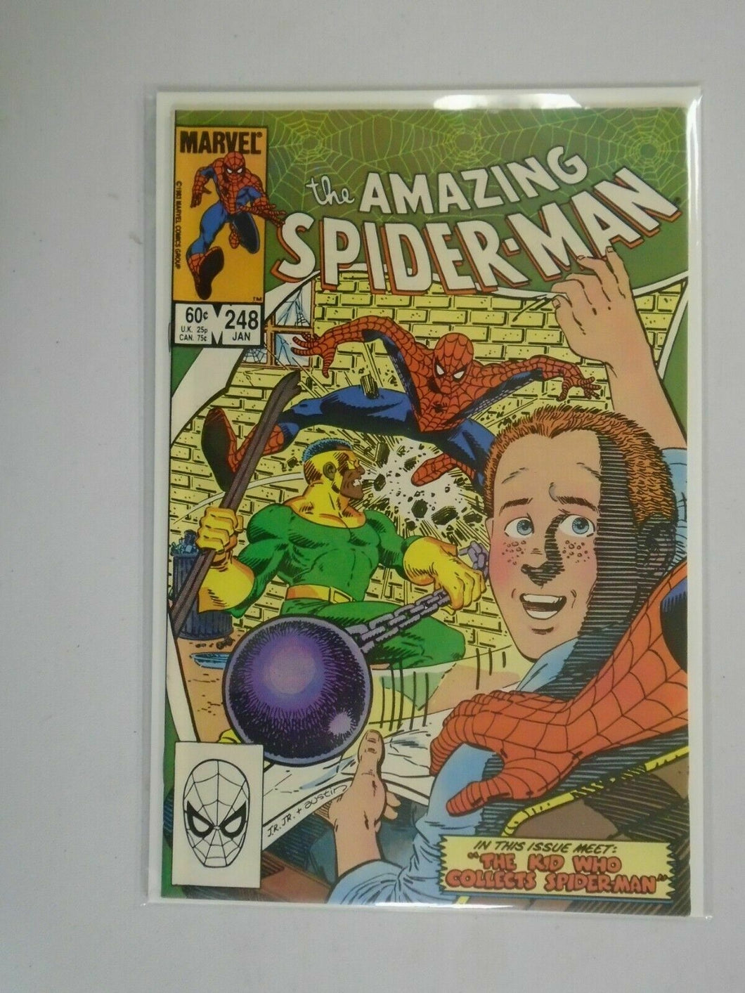 Amazing Spider-Man #248 Direct edition 7.5 VF- (1984 1st Series)