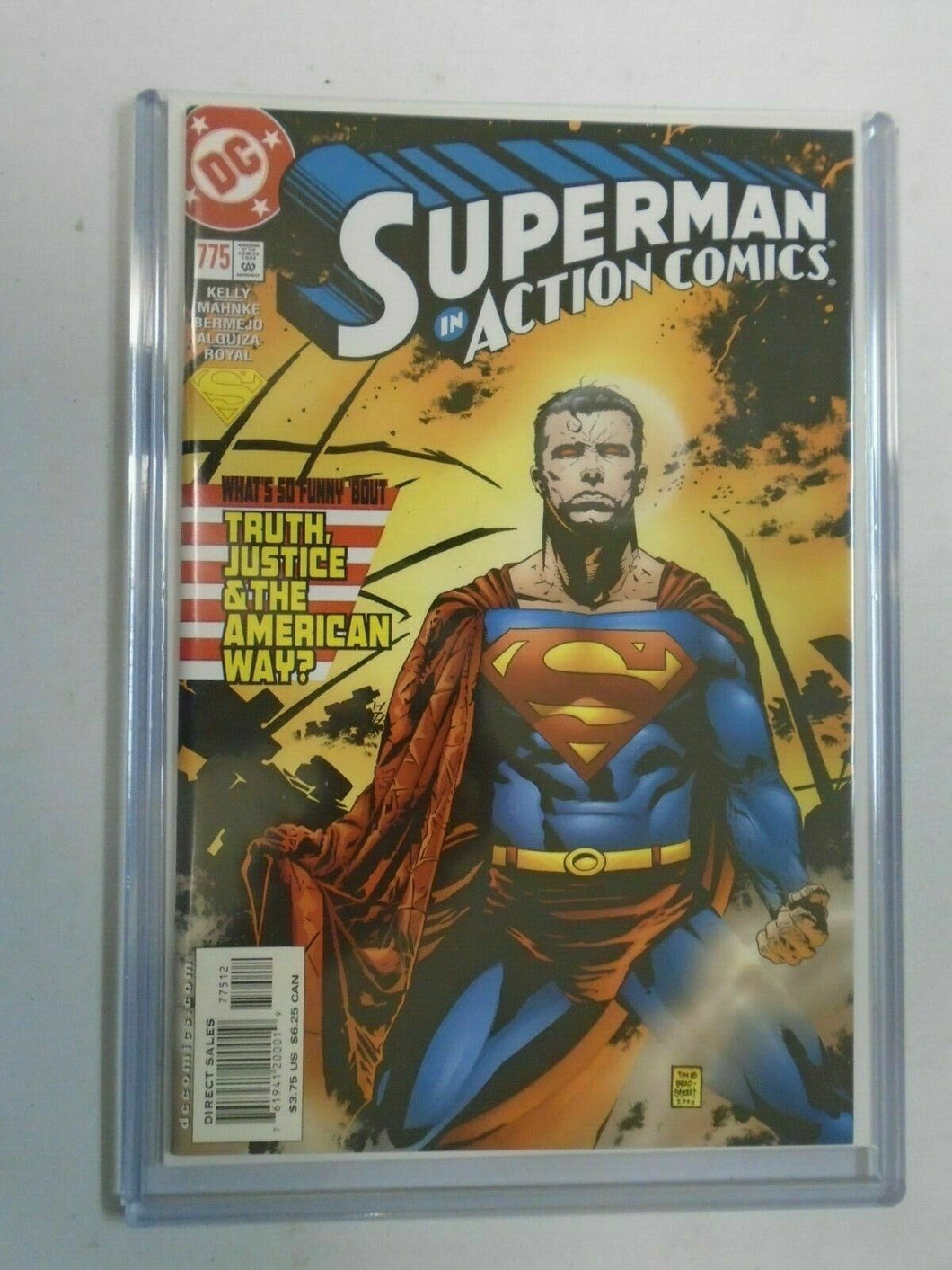 Action Comics #775 Superman (2nd Print) CGC 9.4 NM (2001)