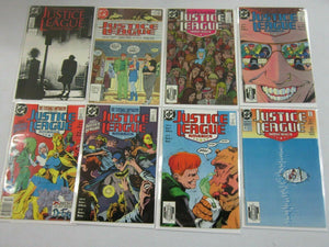 Justice League America comic lot 40 different from #0-63 avg 7.0 FN VF (1987-94)