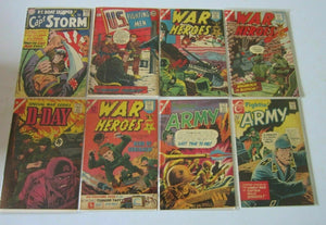 Indy War comic lot 13 different books 4.0 VG (mostly Silver Age)