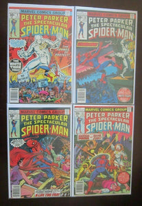 Parker Spider-Man comic lot: #2-45 all 39 different books avg 5.0 (1977-80)