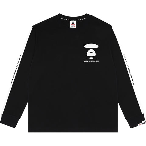 AAPE  BASIC LONG TEE
