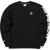 AAPE CTN/POLY   CREW KNIT