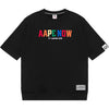 AAPE    CREW NECK SWEATER