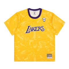 AAPE   LAKERS MESH TEE