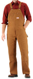 #83 American Made Brown Duck Overalls Made in USA