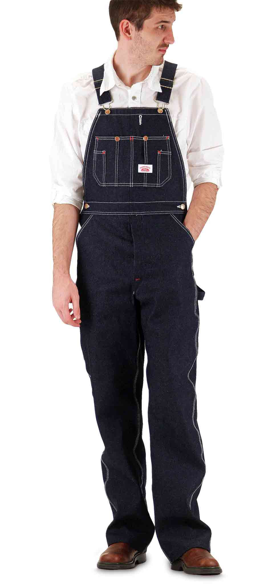 """Details about  /Superb Classic Retro Fiat Studded Navy Boiler Suit Overalls 38-40/"""" Chest"""