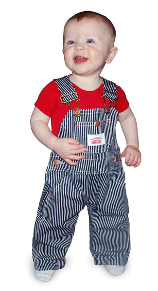 Made In Usa Kids Stripe Overall Railroad Stripe Kids
