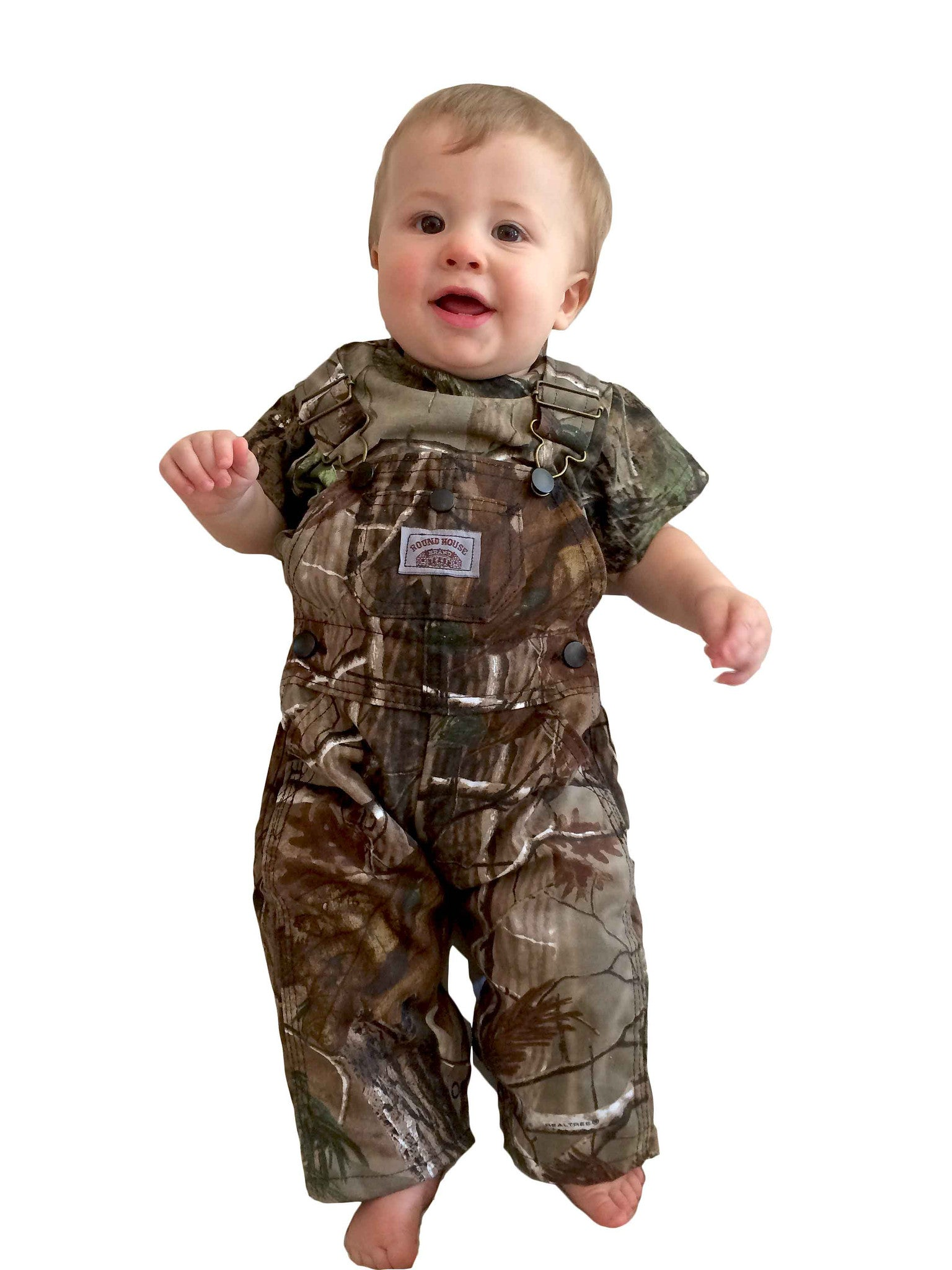 9cdb0e1ef6074 Realtree Camo Kids Overall Made in USA, American Made Bib Overall ...
