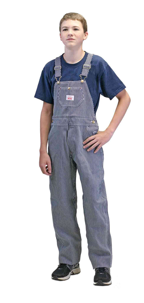 #63 Made in USA Superior Youth Stripe Bib Overall