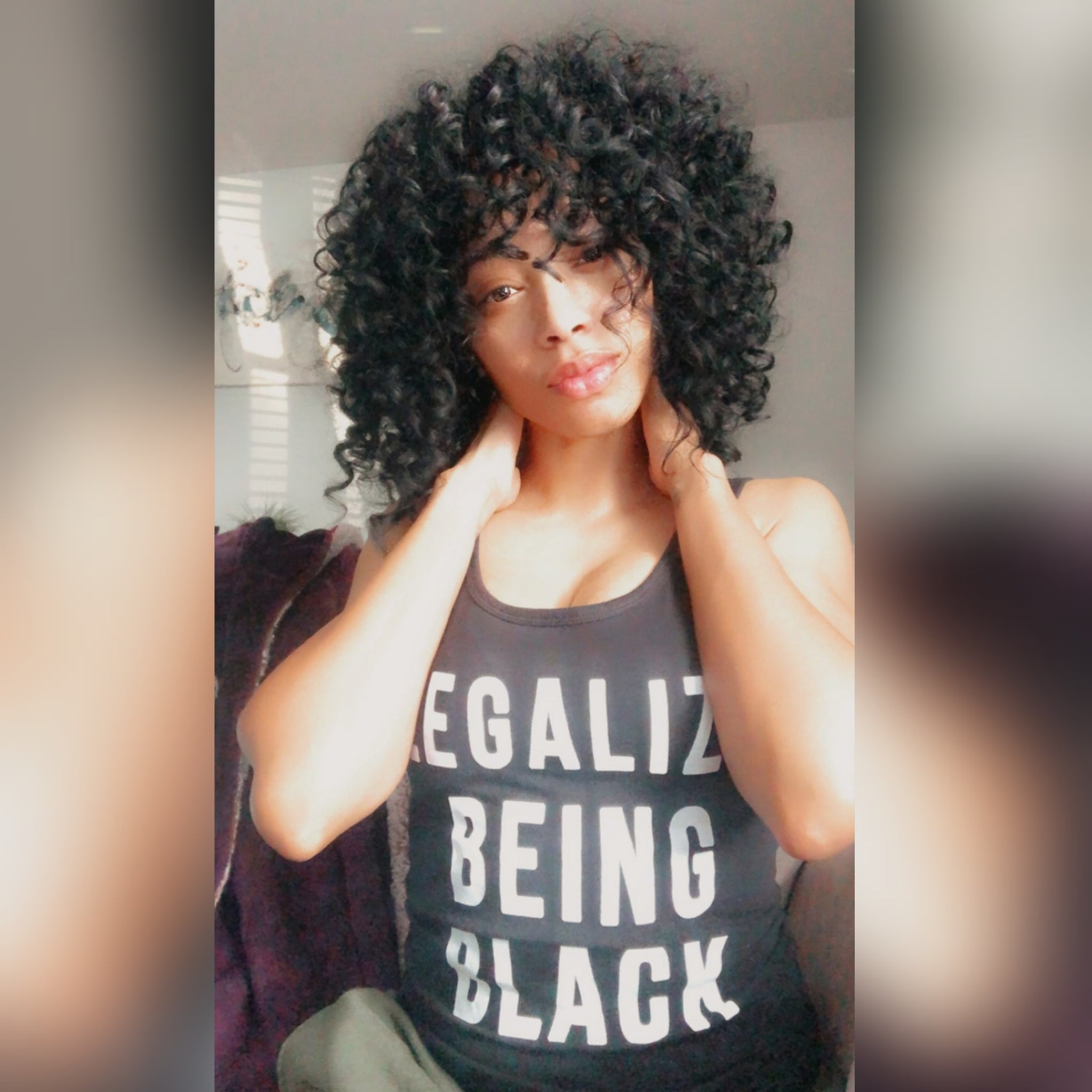 Legalize Being Black Tank Top