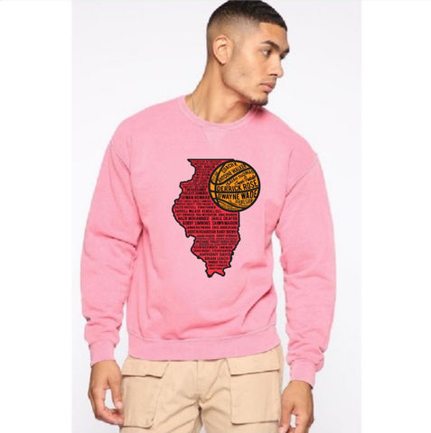 Chi Il. Hoops Crewneck Sweater