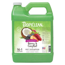 Load image into Gallery viewer, TropiClean Berry & Coconut Shampoo