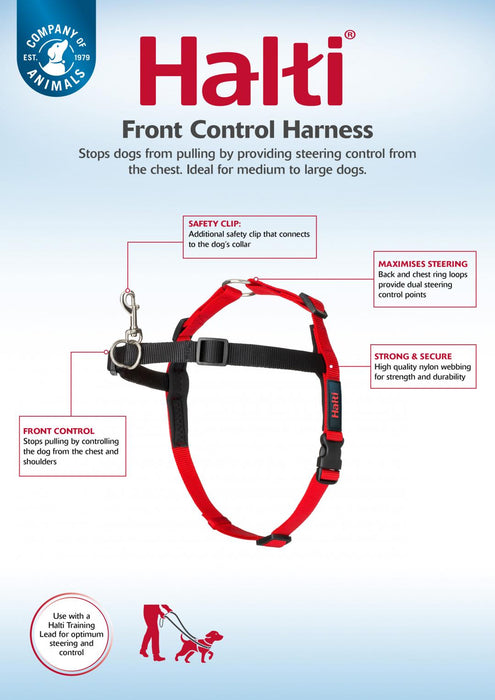 Halti Front Control Harness