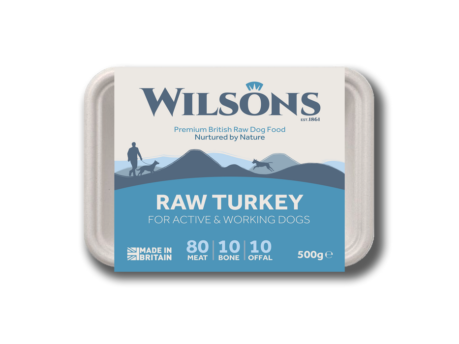 Raw Turkey 80-10-10