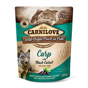 Carnilove Carp with Black Carrot Wet Pouches 300g