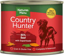 Country Hunter Wet Tins Beef