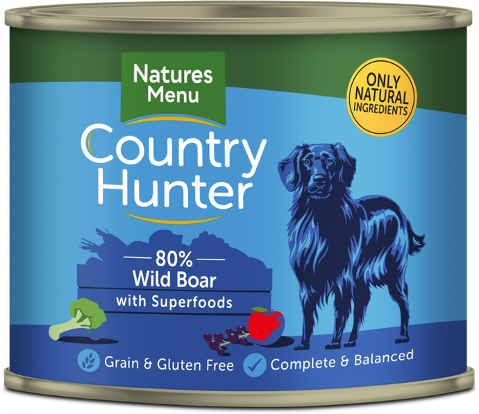 Country Hunter Wet Tins Wild Boar