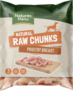 Natures Menu Poultry Breast Chunks