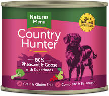Country Hunter Wet Tins Pheasant & Goose