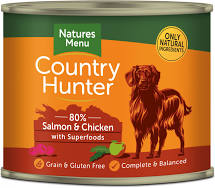 Country Hunter Wet Tins Salmon & Chicken