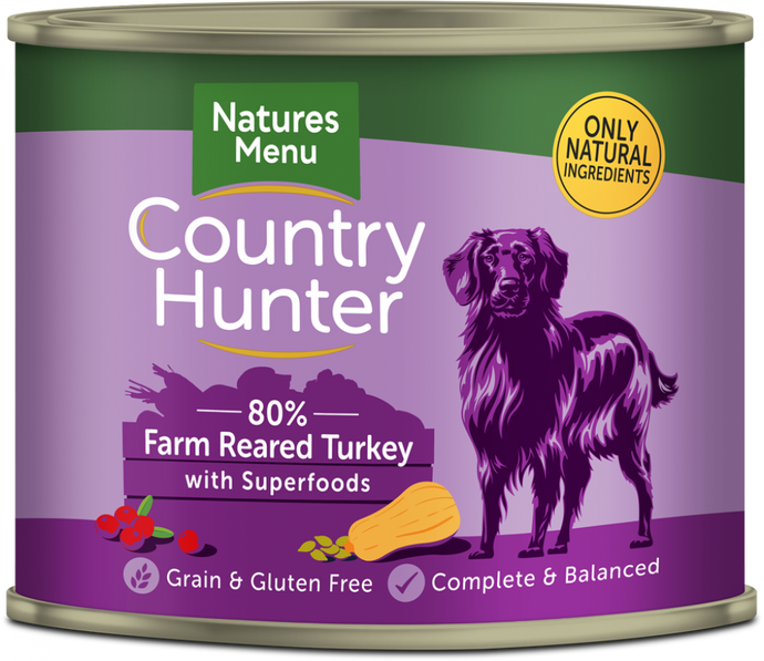 Country Hunter Wet Tins Turkey