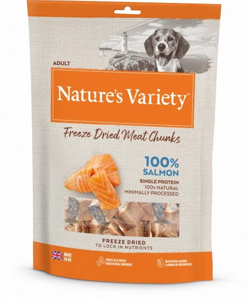 Freeze Dried Salmon Chunks