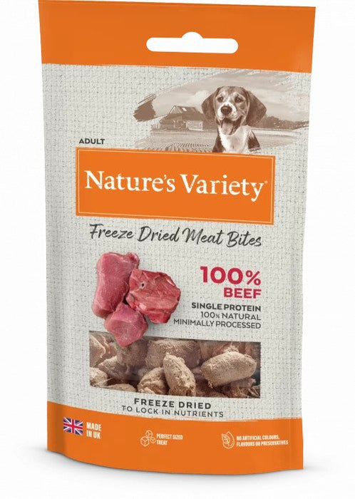 Freeze Dried Beef Bites