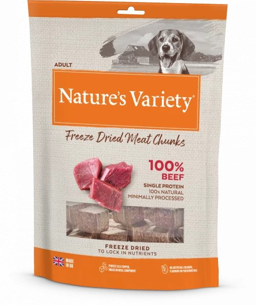 Freeze Dried Beef Chunks